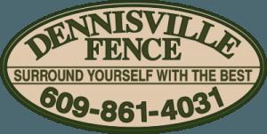 Dennisville Fence Logo
