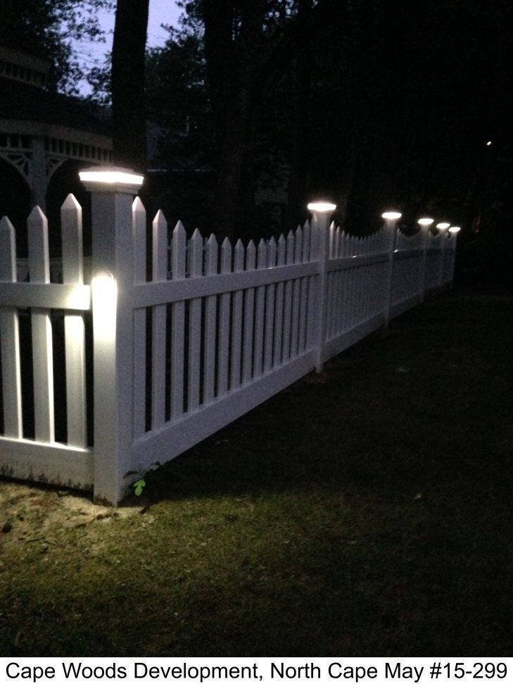 Low Voltage Lighting Photo Gallery Dennisville Fence