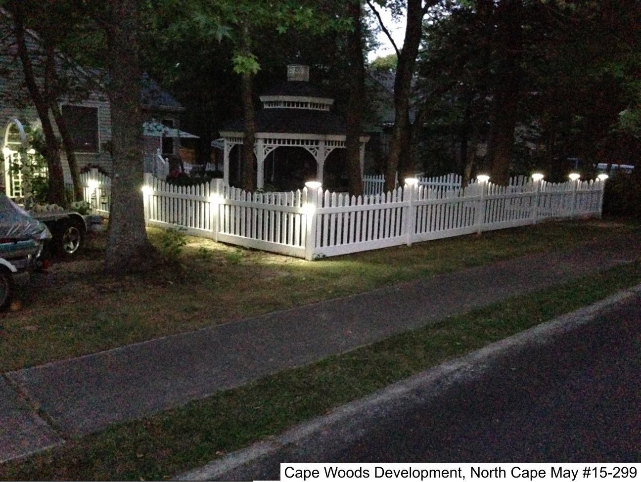 Low Voltage Lighting Photo Gallery Dennisville Fence