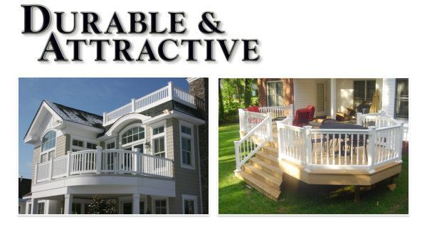 Vinyl Railing - Durable and Attractive image