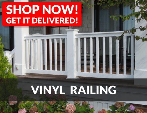 Vinyl Railing - Shop Now and Get It Delivered!
