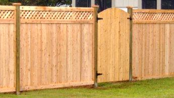 Wood Fence image
