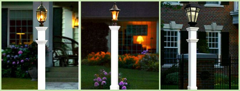 Three Lamp Posts montage image