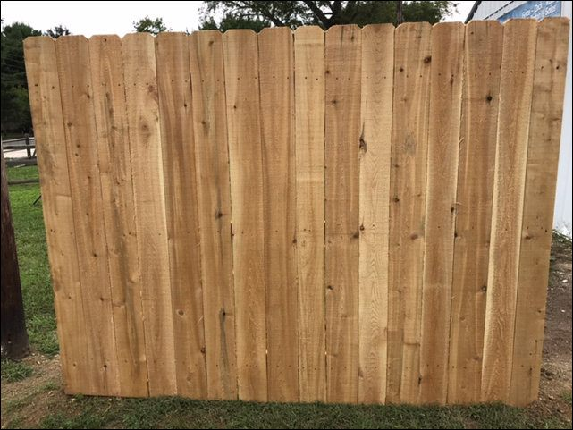 White Cedar Fence Panel - Premium Grade