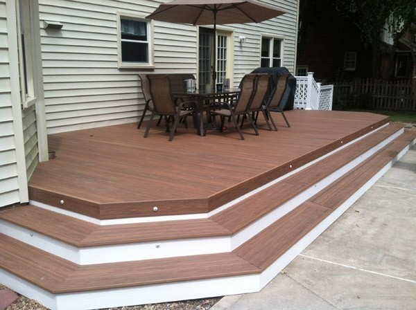 Wolf Pvc Decking Photo Gallery Dennisville Fence