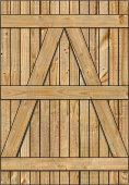 3-Rail Single Wood Gate for Wood Fences Image