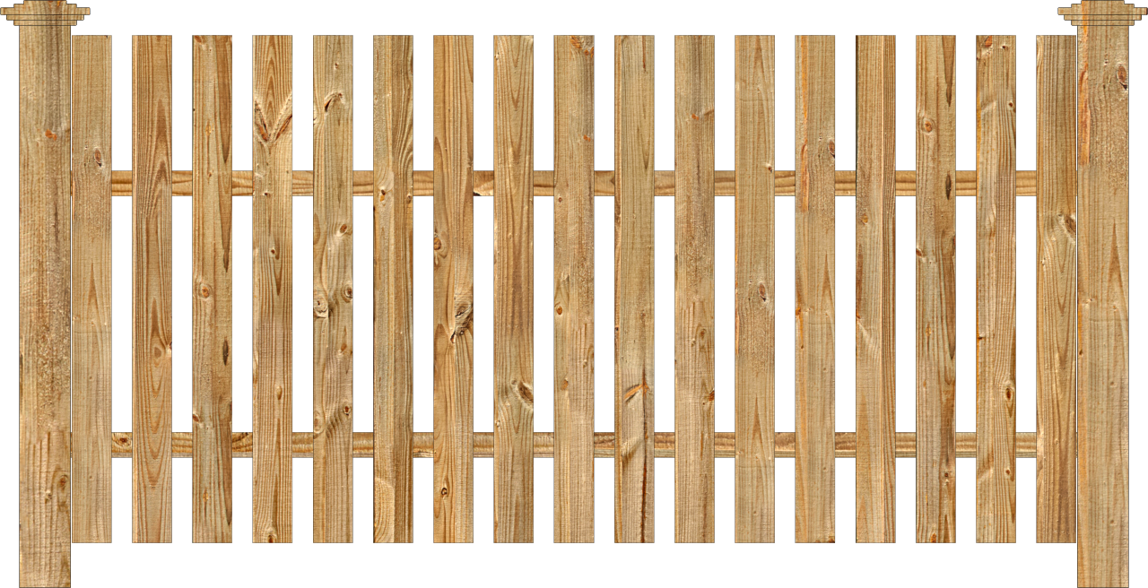 Spaced Picket Wood Fence Dennisville Fence